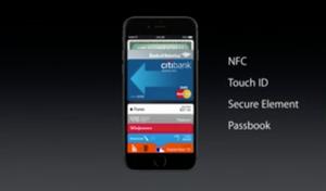 Apple Pay bruker NFC og lar deg betale med mobilen i betalingsterminaler.