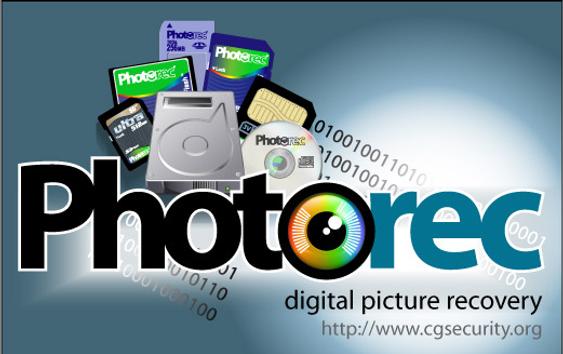 PhotoRec kan brukes til å gjenopprette alle typer filer, ikke bare bilder.