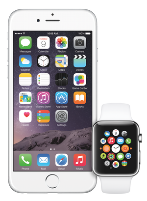 Apple Watch krever at du har en iPhone.
