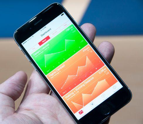 Som mange andre mobilprodusenter satser også Apple på helse.