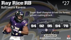 En virtuell Ray Rice. (Bilde: EA Sports).