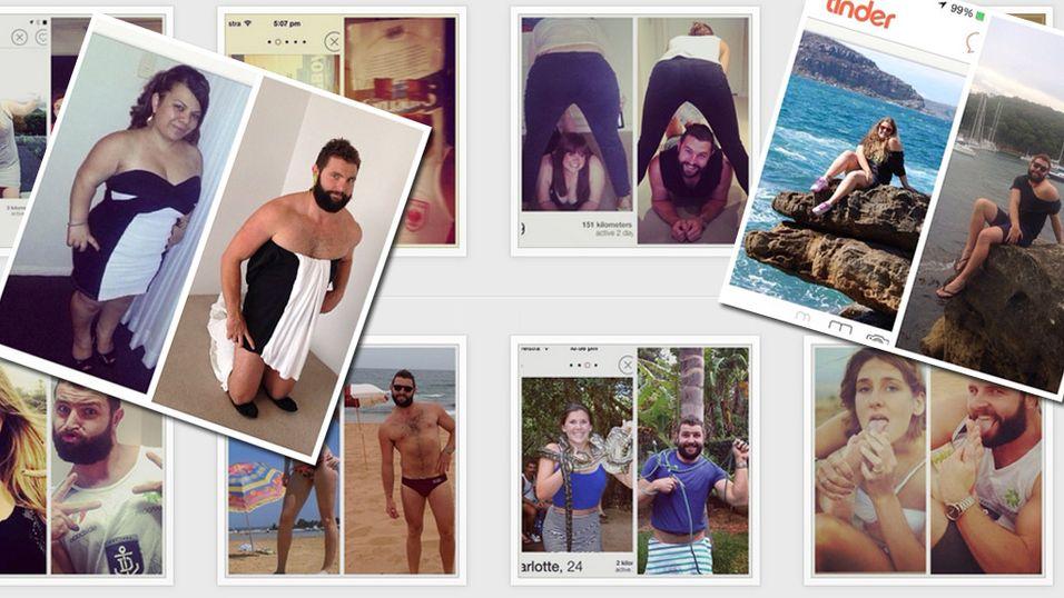 «Tindafella» gjør narr av dating-profilbilder
