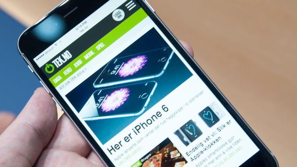 Se video av de to nye iPhone-modellene