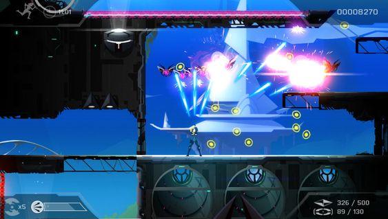 Kai er både akrobatisk og flink med våpen. (Skjermbilde: FuturLab/Sony Computer Entertainment).