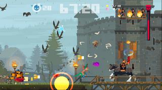 Jeg innser øyeblikkelig at samtlige skjermbilder fra dette spillet vi se ut som fullstendig kaos.