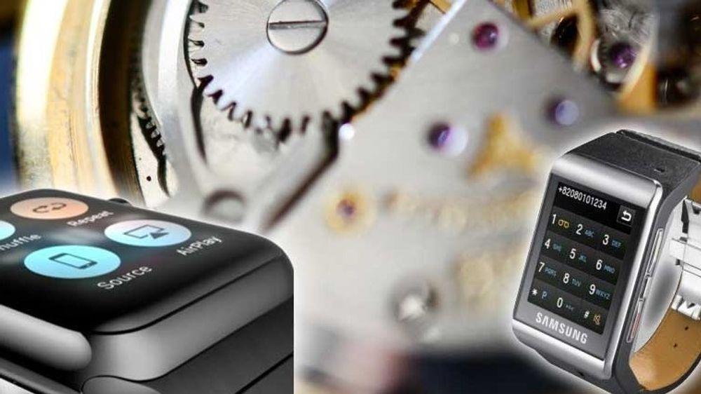 GUIDE: Vil Apple og Samsung lykkes med sine smartklokker?