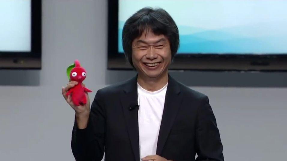 Shigeru Miyamoto lager Pikmin-filmer.