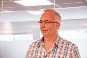 Kjell Holter, teknisk rådgiver i Jernbaneverket.