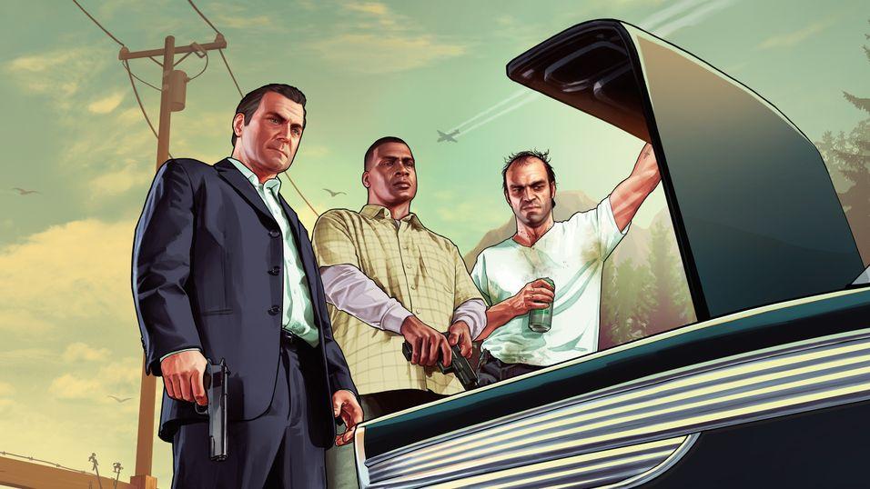 Grand Theft Auto V slippes til PlayStation 4 og Xbox One i november