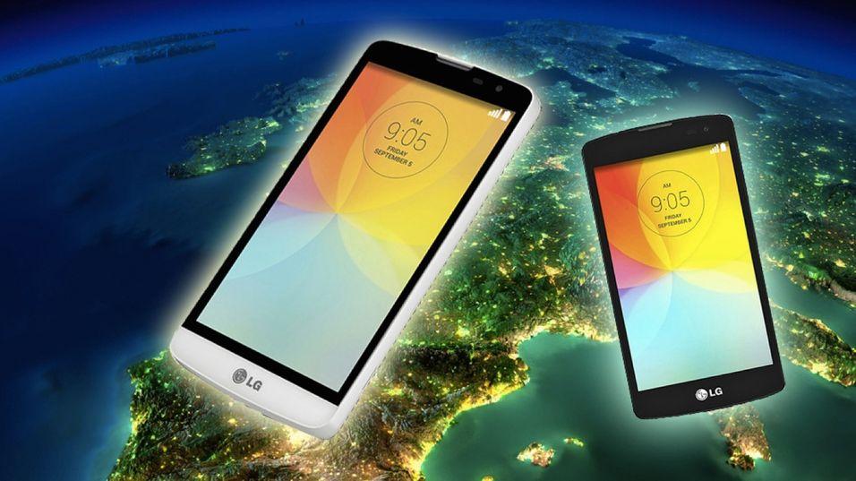 To nye telefoner på vei til Europa
