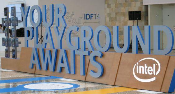 Intel frir til utviklerne under IDF.