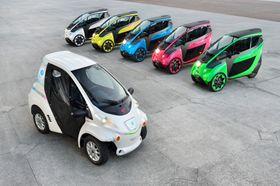 Toyota har et fargerikt el-fellesskap.