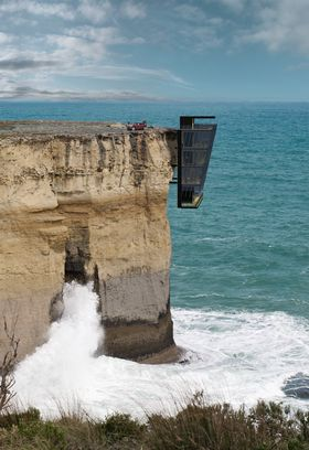 Hadde du turt å bo her?