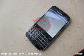 Menyene minner mer om BlackBerry OS 7 enn før.