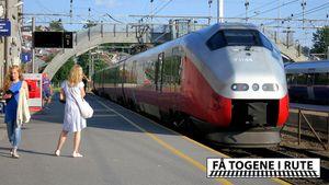 Hvorfor stopper alle togene av én signalfeil?