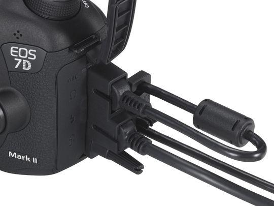 7D Mark II gir deg mange tilkoblingsmuligheter.