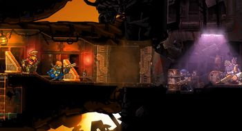 I Steamworld Heist styrer du dampdrevne roboter i verdensrommet