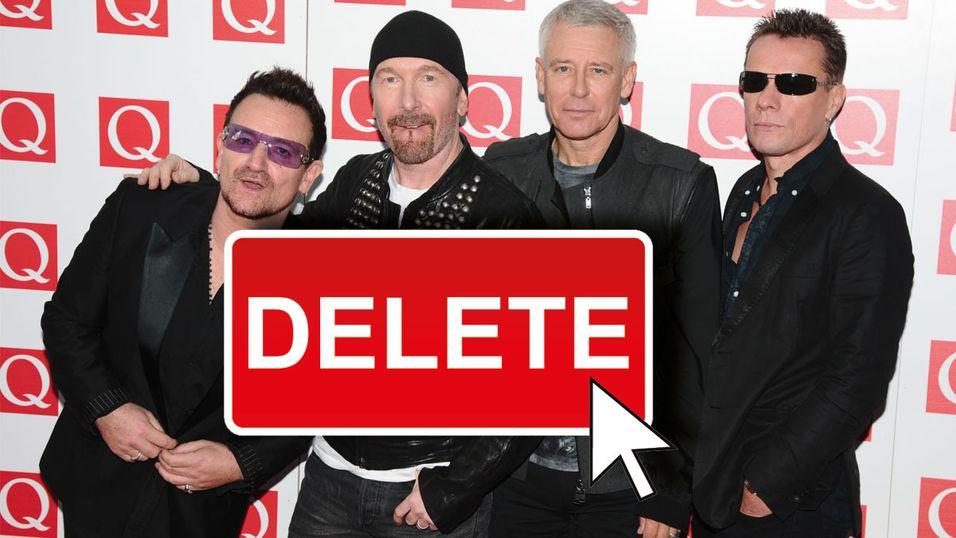 Nå kan du slette U2-albumet du ikke visste du hadde