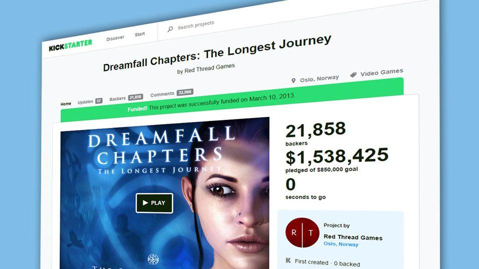 Kickstarter lanseres i Norge neste måned