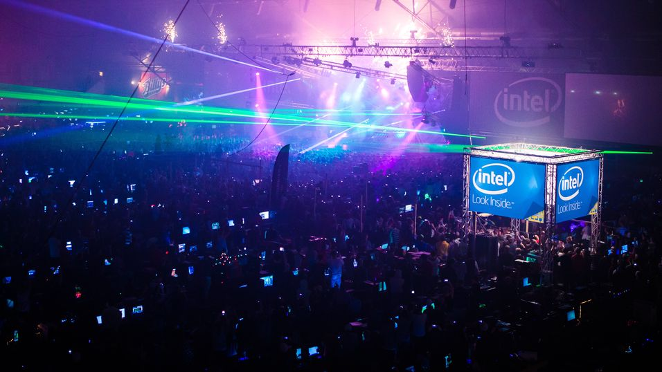 Fra Dreamhack Winter i 2013.