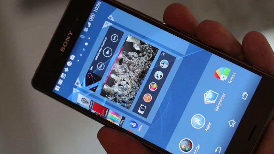 Sony tester nytt Android-grensesnitt på svensker