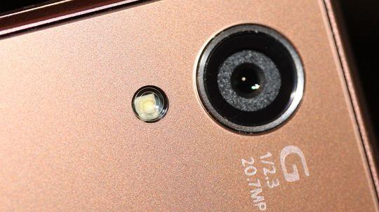 Kameraet har en oppløsning på 20,3 megapiksler.