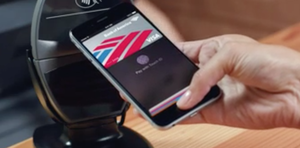 Apple Pay i bruk.