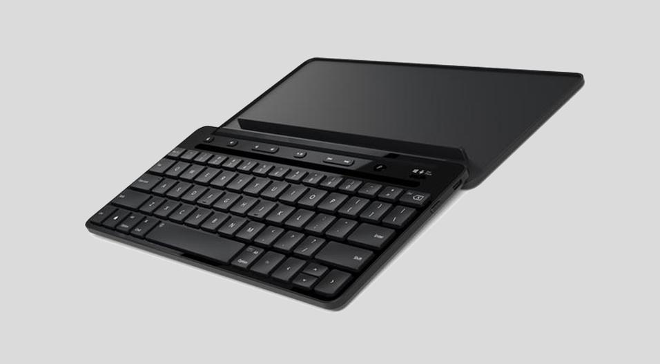 Dette mobile tastaturet kan du bruke med alle operativsystemene