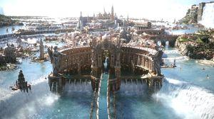 Verdenen til Final Fantasy XV virker... lit annerledes.