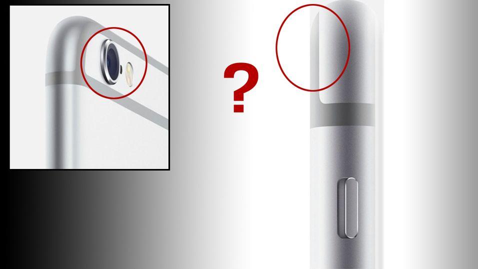 Bildene som peker rett på kameraet viser bulen tydelig, men i alle andre vinkler er den så godt som forsvunnet. Tilfeldig?