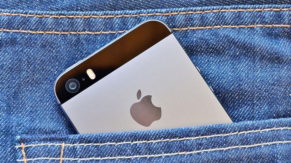 Dette kan bli deg, med en iPhone trygt plassert i bukselomma.