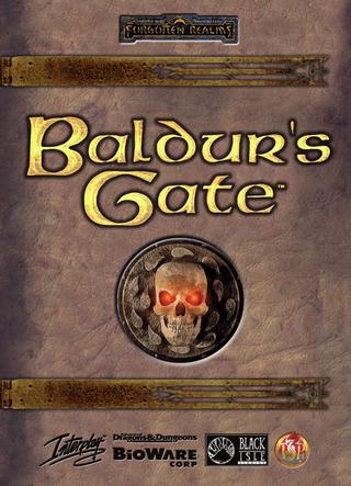 Baldur's Gate-spillene er kanskje de mest kjente dataspillene som baserer seg direkte på Dungeons & Dragons-reglene.