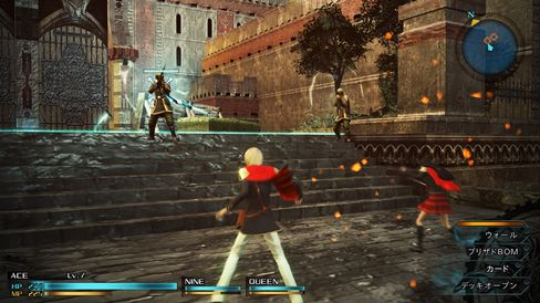 Final Fantasy-serien får sitt første spel på den nye konsollen.