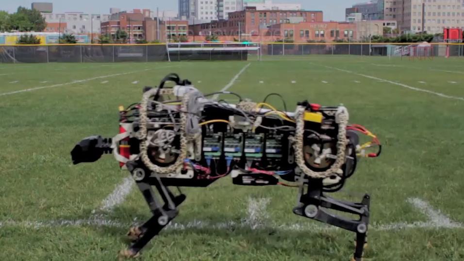 Denne raske roboten imiterer en gepard
