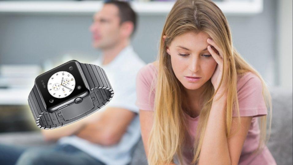 Vil du ende opp som dette paret dersom du kjøper deg en Apple Watch?
