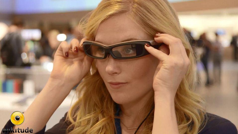 Her er Sonys Google Glass-utfordrer