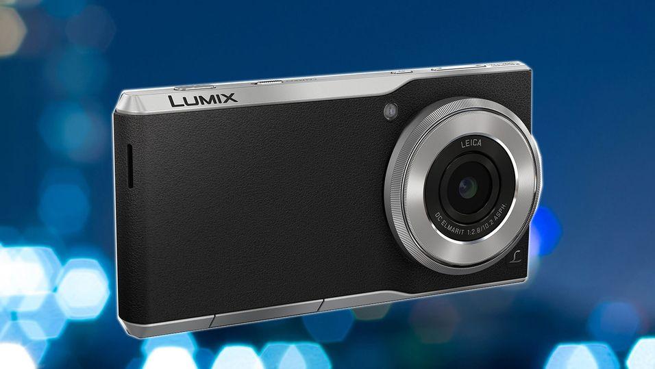 Panasonic med en råtass av en kameramobil