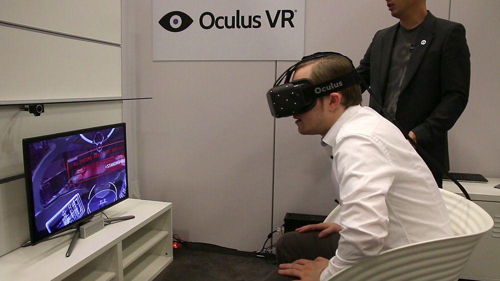 VR-brillene Oculus Rift har gjort kjempesuksess på Kickstarter.