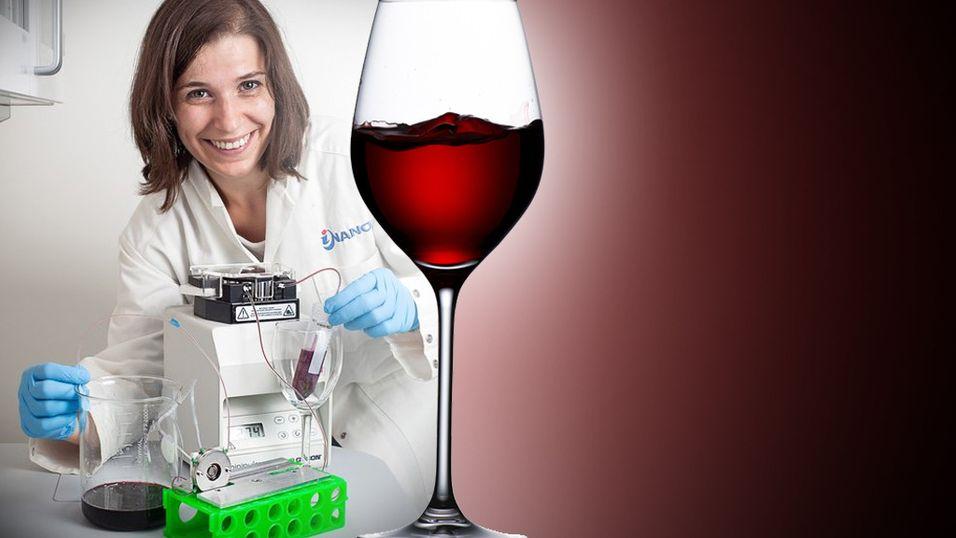 Kunstig tunge kan «smake» tanniner i rødvin