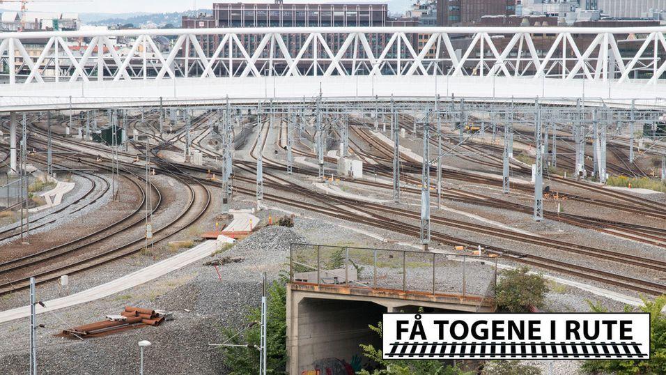 Jernbanen bruker millioner på sære løsninger