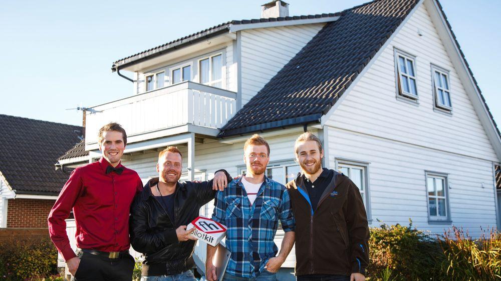 Norsk gjeng satser alt på smarthus