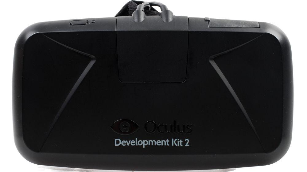 Hovedpersonen selv: Oculus Rift DK2.