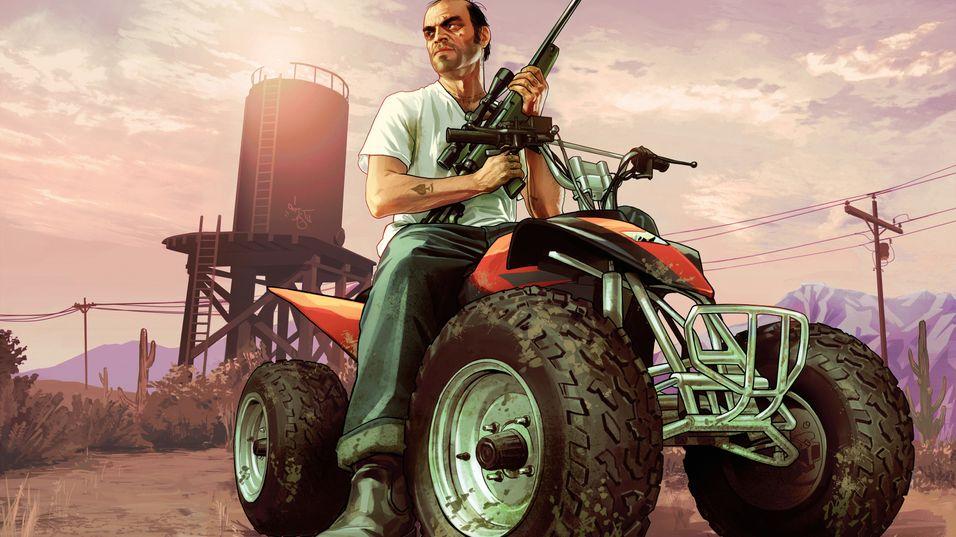 Grand Theft Auto V får kanskje støtte for førsteperson