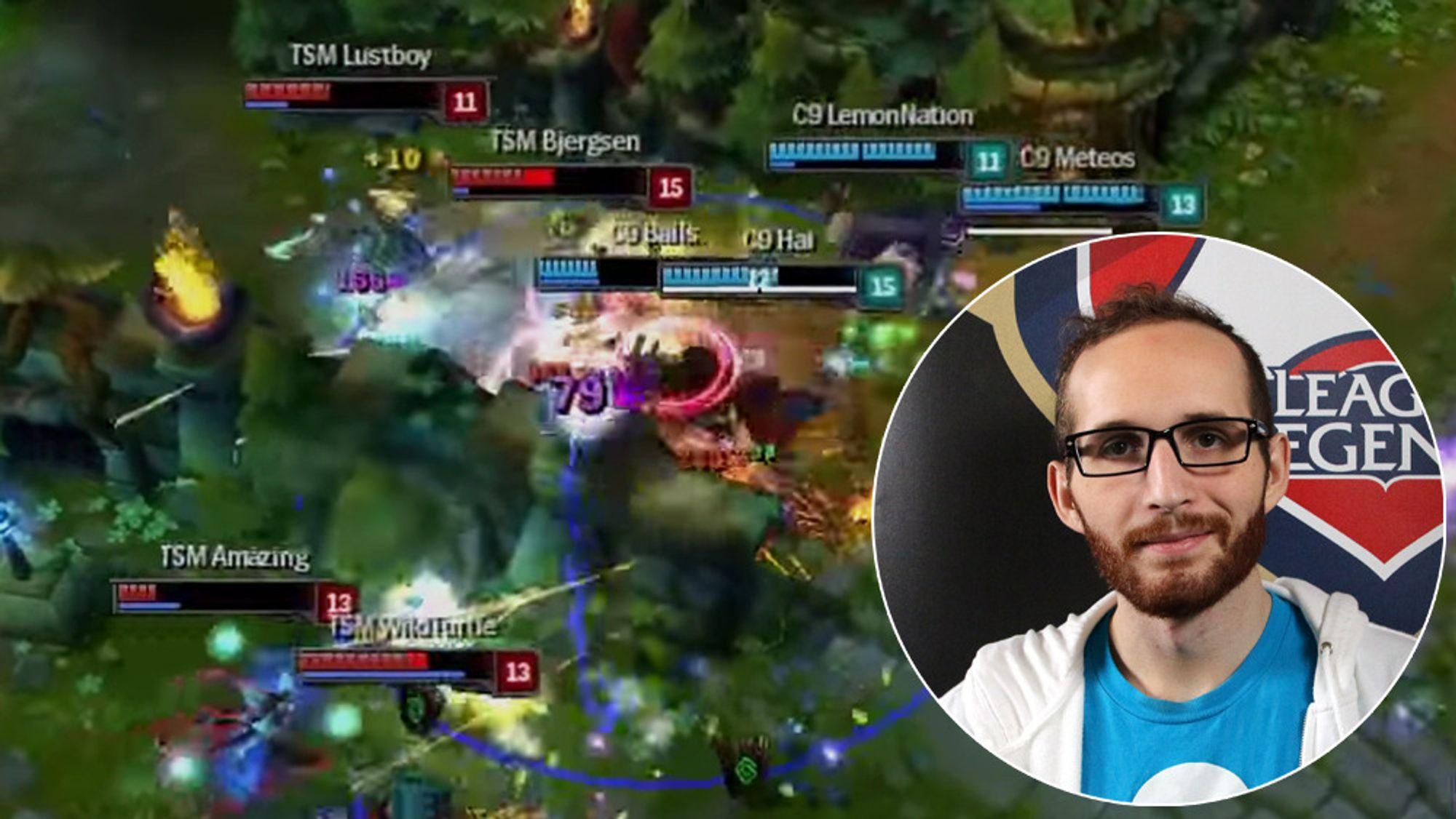 Daerek «Lemonnation» Hart  er en av de mest strategiske spillerne på Cloud 9.