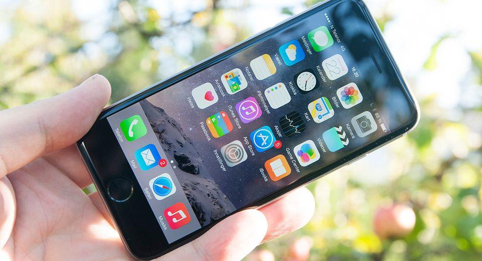 iPhone 6-eiere klager over at skjermen lett ripes opp