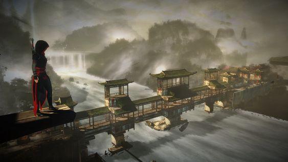I høyden får man god utkikk over spillets vakre områder.