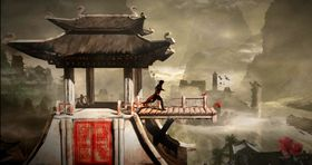 Assassin's Creed Chronicles: China byr på ein visuell stil inspirert av kinesiske måleri.