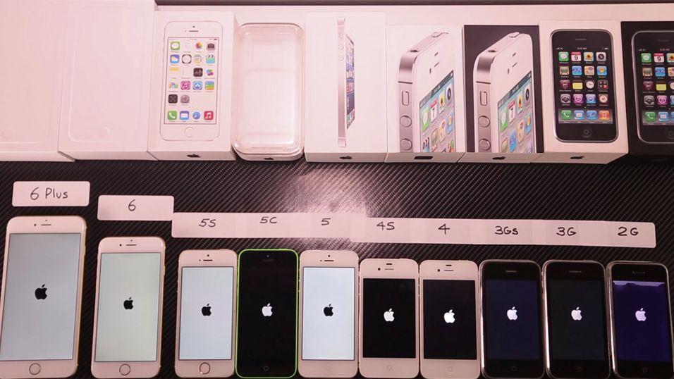 Hvilken iPhone-modell er den raskeste?