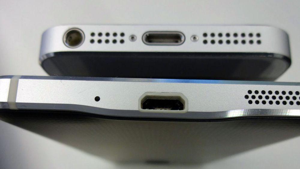iPhone 5S på toppen.