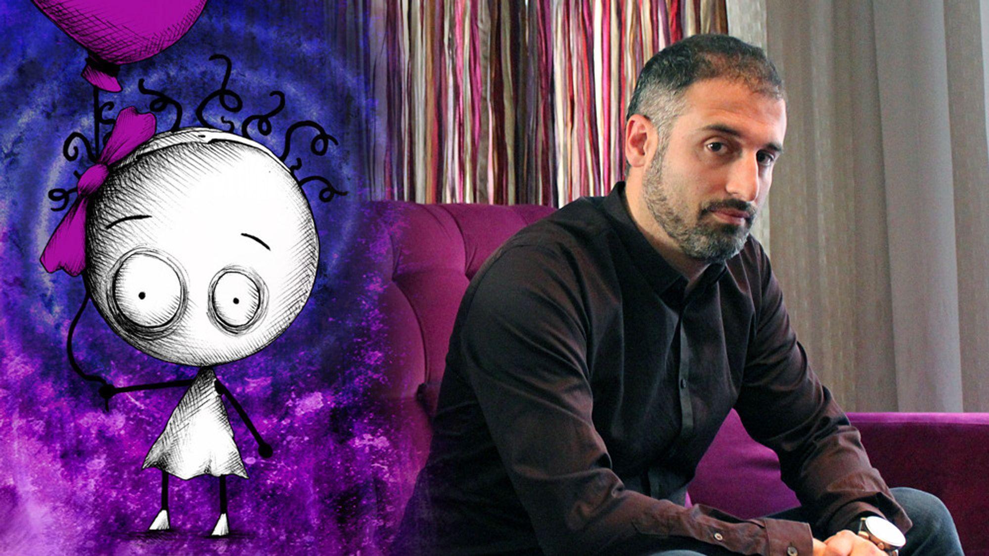 Massimo Guarini leder Ovosonico og er kreativ regissør for spillet Murasaki Baby.